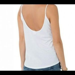 O'Neill Tops - O'Neill White Cactus Cotton Tank Top